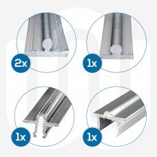 5x Mixed Patio Tracks Individually Boxed