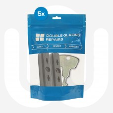 5x Pairs of Siegenia Top Arm Receivers & Key Individually Bagged