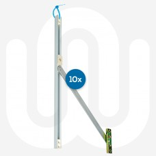 10x Door Restrictors Individually Hangable