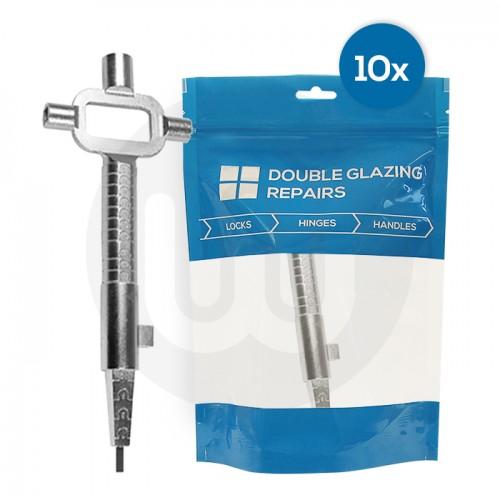 10x Metal Lock Testing Tools Individually Bagged