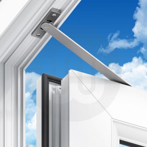 Door restrictor non hold open for Door opening restrictor