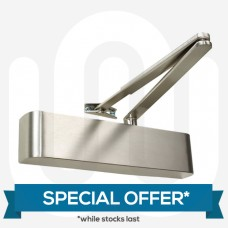 SPECIAL OFFER! High Quality Door Closer with Stainless Steel Finish