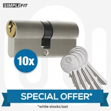 SPECIAL OFFER! 10x Mixed Standard Dual Finish Cylinders