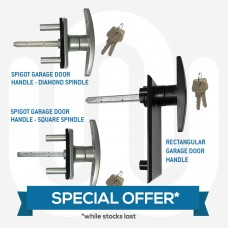 SPECIAL OFFER! 3x Popular Garage Door Locking Handles