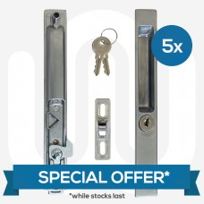 SPECIAL OFFER! 5x BPL / DNS Industries Inline Patio Door Lock