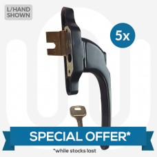 SPECIAL OFFER! 5x Everest U Peg Window Handles