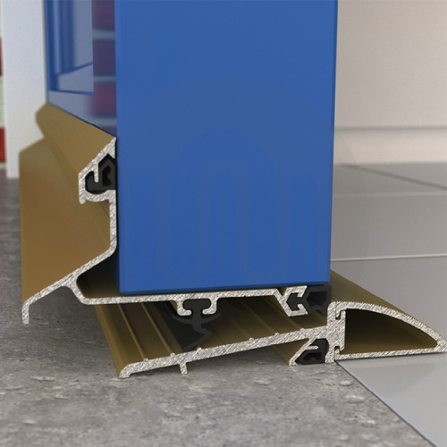 Exitex Threshold Amp Weatherbar Kit Outward Opening Doors
