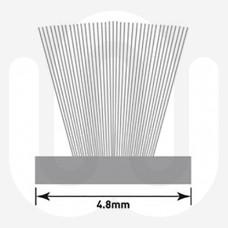 Brush Pile For Aluminium Doors - Large