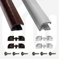 PVC Drip Mould (Weather Bar)