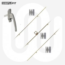 Simplefit Aluminium Sash Repair Kit