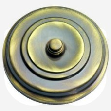 Circular Bell Push with Concealed Fixings