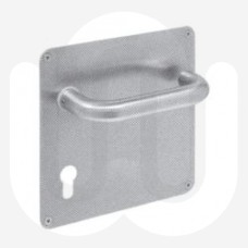 Large Pull Handle on Plate