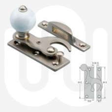 Sash Fastener with Porcelain Knob