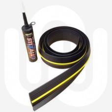 Simplefit Universal Garage Door Floor Seal - 2.6m